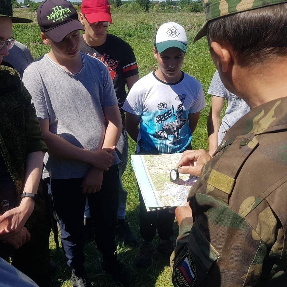 На базе Урюмской школы продолжаются военно-полевые сборы среди юношей